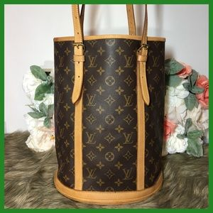 Authentic Louis Vuitton Bucket GM